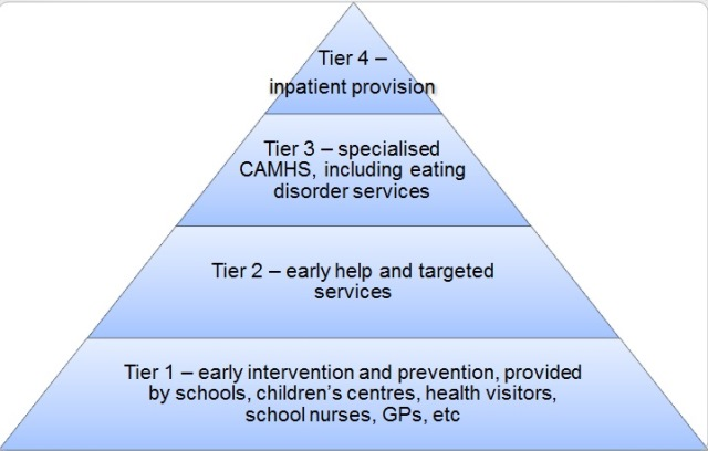 The CAMHS tier system explained   Healthy Young Minds in Herts